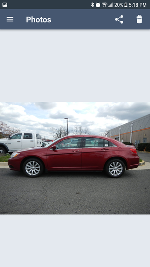 2013 Chrysler 200 Touring 60446miles Finance all qualify TAX ID Wellcome 🚗🚗🚗✒💰 for Sale in Fairfax, VA
