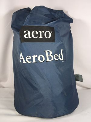 """AERO BED W/BUILT-IN PUMP & MATTRESS COVER """"TWIN SIZE"""" Excellent Condition for Sale in Fresno, CA"""