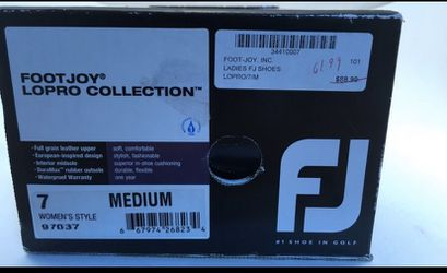 Footjoy Ladies Size 7M Golf Shoes In Great Condition—worn maybe twice! Thumbnail