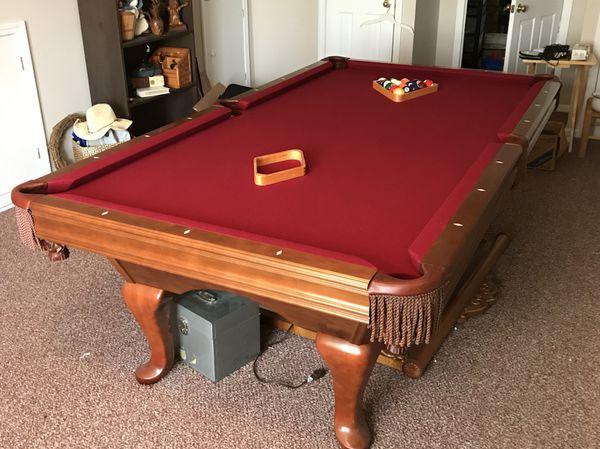Brunswick Bradford II Mahogany Pool Table For Sale In Pacolet SC - Brunswick bradford pool table