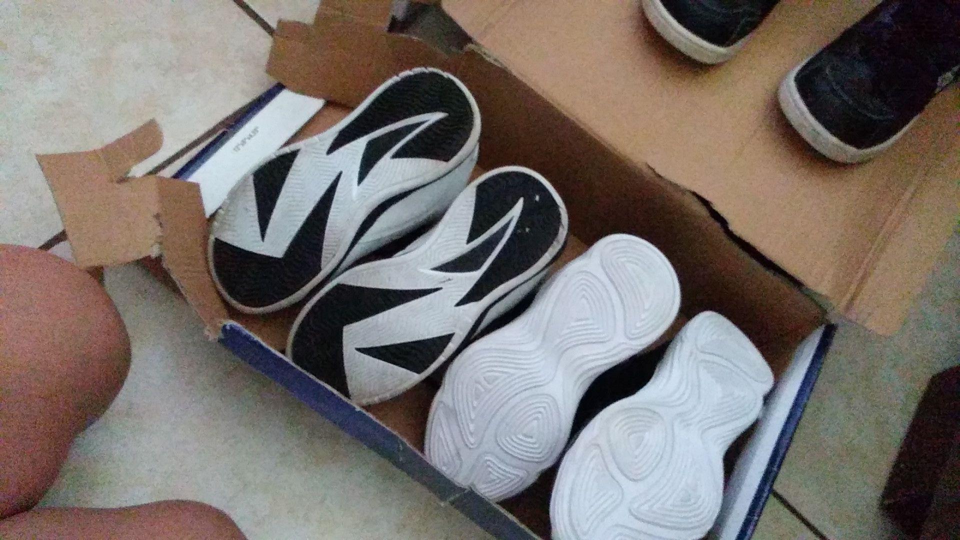 Shoes gotta go
