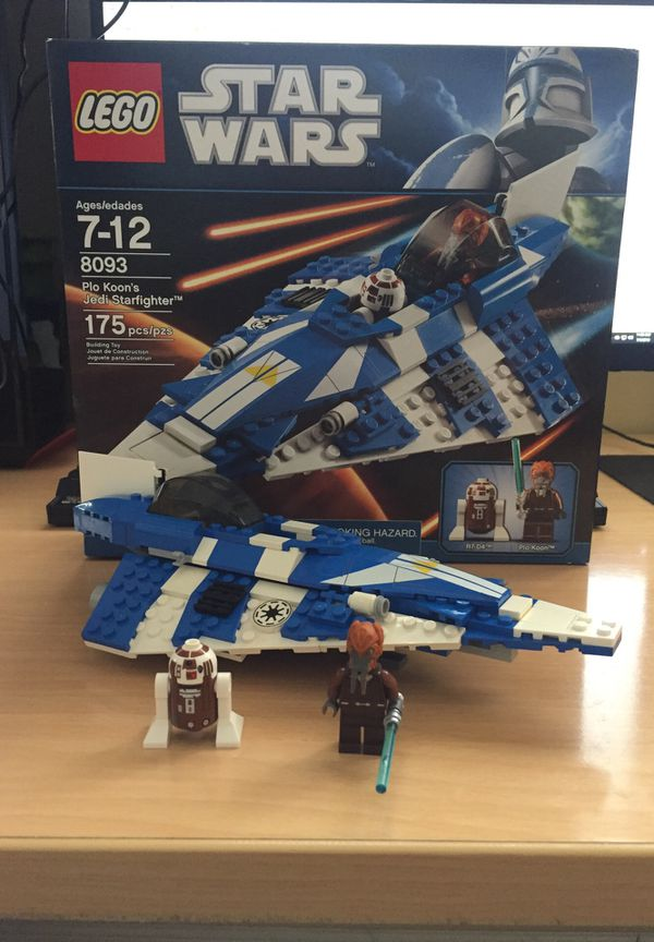 Lego Star Wars 8083 Plo Koons Jedi Starfighter For Sale In Coronado