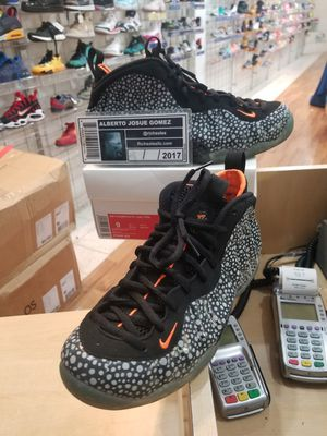 Nike Foamposite One Safari Size 9 for Sale in Silver Spring, MD