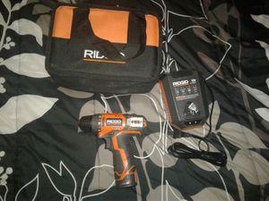 Ridgid cordless drill for Sale in Glen Burnie, MD
