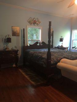 King Size Ethan Allen Bedroom Set Thumbnail