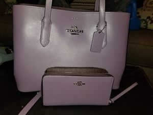 Photo Brand new coach purse with wallet