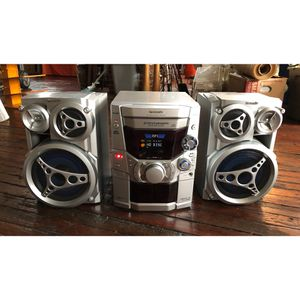 Panasonic 300 Watt Bookshelf Stereo System CD Cassette Radio For Sale In Washington Boro PA