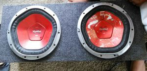 Speakers and box for Sale in Raleigh, NC
