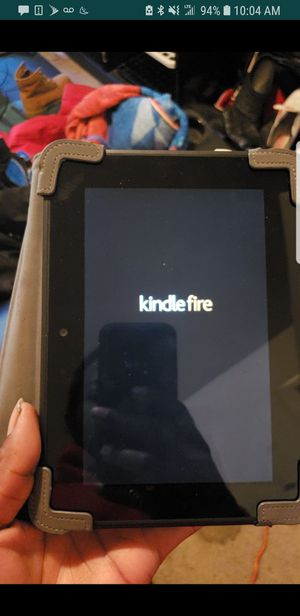 Kindle Fire HD,, Only used 1 time,, son doesn't trust it for Sale in Washington, DC