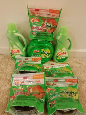 Gain flings laundry detergent bundle- $40 not negotiable for Sale in Rockville, MD