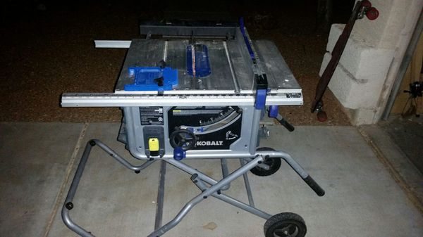 Tremendous 10 Kobalt Table Saw For Sale In Peoria Az Offerup Download Free Architecture Designs Scobabritishbridgeorg