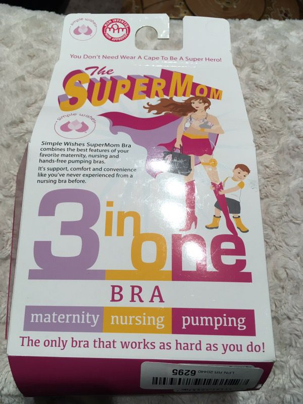 b61c219bc Simple Wishes Supermom All-in-One Nursing and Pumping Bra
