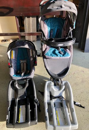 Photo Greco Stroller & Car seat set (with 2 car seat bases included)