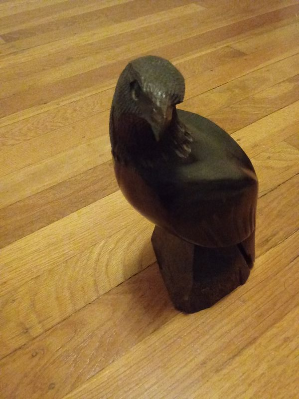 Awsome Iron Wood Eagle Statue For Sale In Linda Ca Offerup