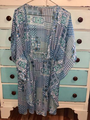 Blue Rod Beattie Cover up for Sale in Alexandria, VA