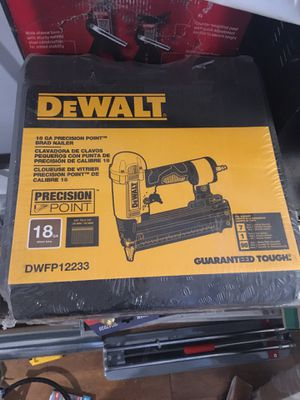 Dewalt Precision Brad Nailer for Sale in Baltimore, MD