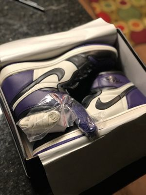 Court Purple 1's Air Jordan's for Sale in Fort Washington, MD