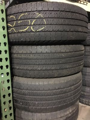 265/50/20 Goodyear used tires for Sale in Boston, MA