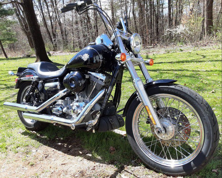 Photo 09 Harley Davidson Dyna Super Glide Custom
