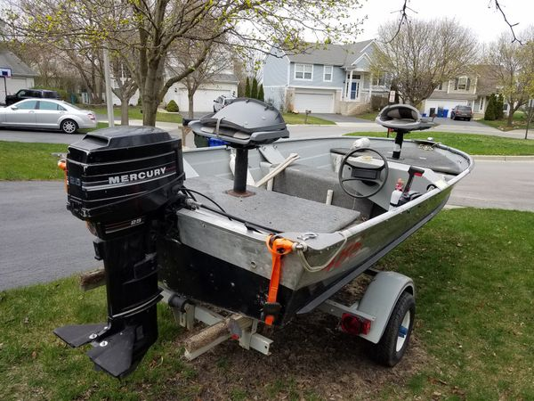 15 ft. Fishing boat for Sale in South Elgin, IL - OfferUp