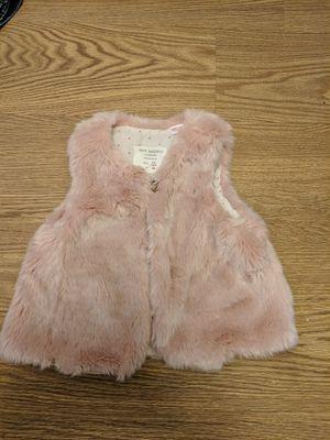 Zara baby girl fur vest for Sale in Rockville, MD