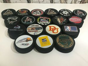 Vintage Ice Hockey Pucks New for Sale in Denver, CO