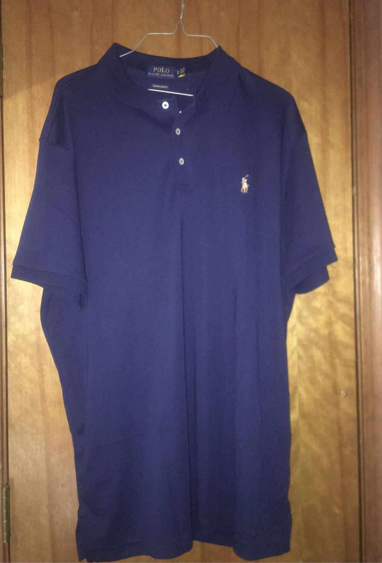 XL slim fit polo shirt