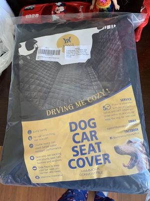 dog car seat cover for Sale in Columbus, OH