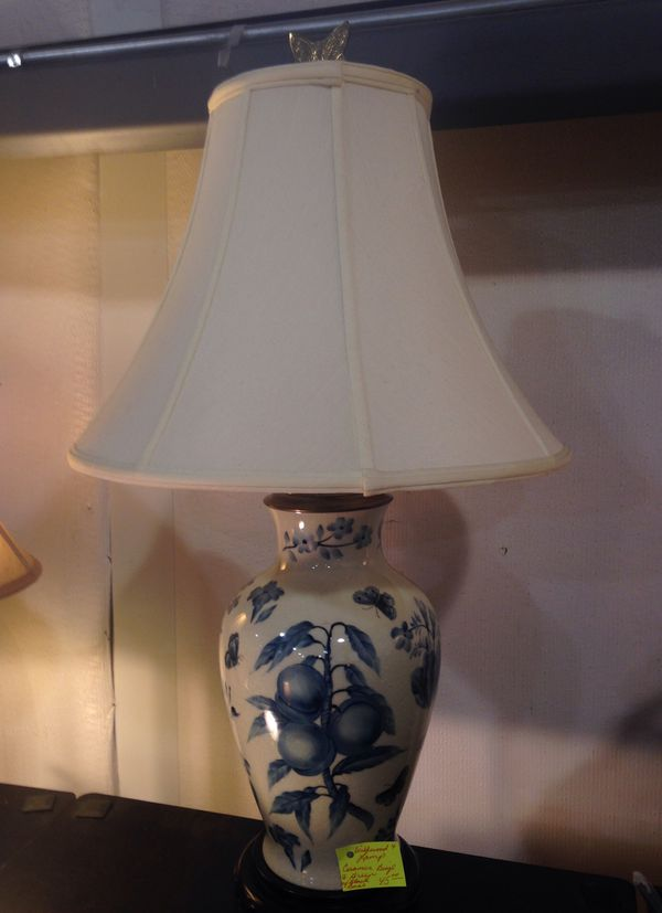 Very Pretty Wildwood Lamps In Blue And Green 45 00 Each Scroll Down On Sale Now For 35 00 Scroll Down For More Information For Sale In Winterville