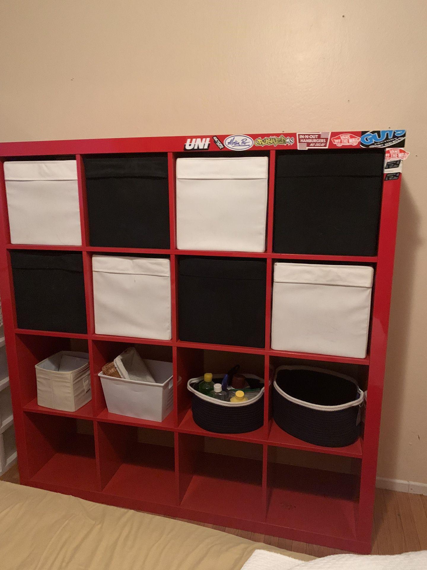 IKEA 4x4 Box Shelf