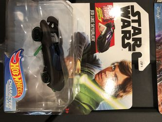 Hot Wheels Star Wars Action Feature Character Cars Thumbnail
