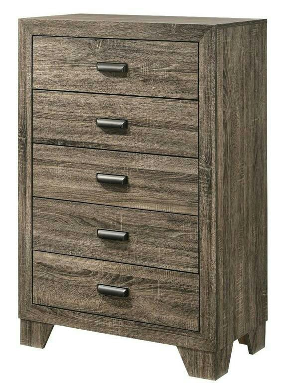 [SPECIAL] Millie Brown Panel Bedroom Set (Available in King and Quenn
