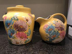 Antique Jug and Watering Pot for Sale in Alexandria, VA