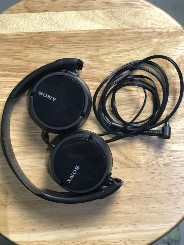 b7d4f3d8e66 Sony MDR-ZX110 ZX Series Headphones MDRZX110 Wired Over Ear (Free shipping)