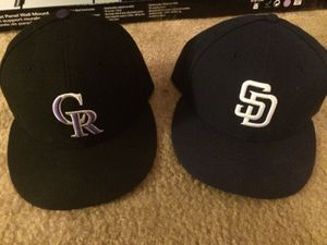 7 5/8 new American made 5950 fitted hats for Sale in Scottsdale, AZ
