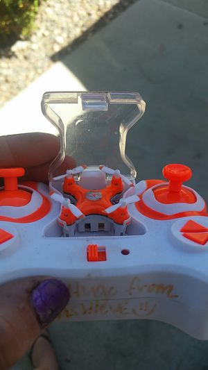 Led lights flashing world's smallest drone for Sale in Los Angeles, CA
