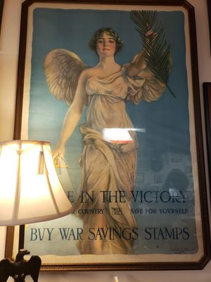 ANTIQUE WAR BONDS POSTER for Sale in Seattle, WA