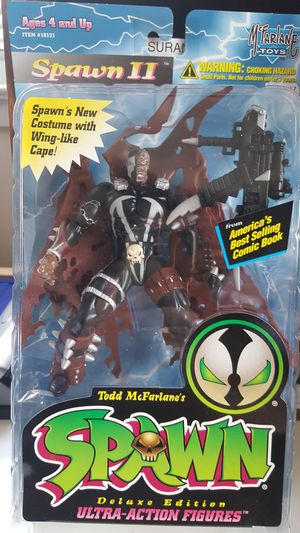 1995 Spawn Deluxe Edition Ultra-Action Figure Spawn II for Sale in Woodbridge, VA