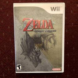 The Legend Of Zelda Twilight Princess Wii (Case And Manual Only) Thumbnail