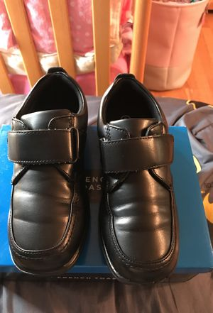 Boys black shoes size 2 for Sale in Gaithersburg, MD