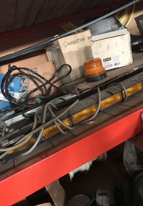 Whelen Aaron Stick Snow Plow Light Bar For Sale In Big Rock