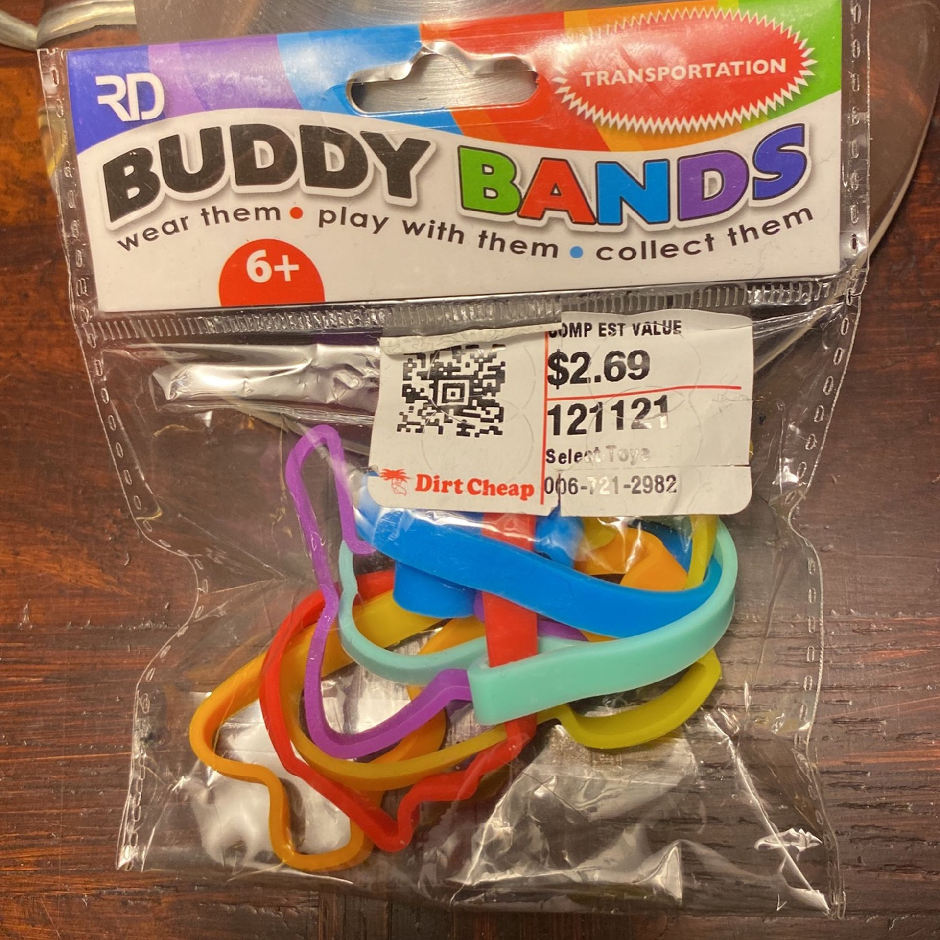 Buddy Bands 120 Packages Of 5 Bands