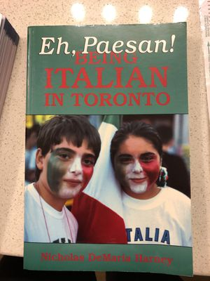 "GMU students: ""Eh, Pasean! Being Italian in Toronto"" book for anthropology for Sale in Fairfax, VA"