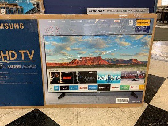"Brand New Samsung 6 Series 43"" TV! Open box w/ warranty"