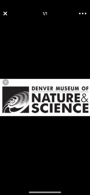 Denver Museum of Nature and Science tickets. Awesome deal! 3 tickets. for Sale in Broomfield, CO