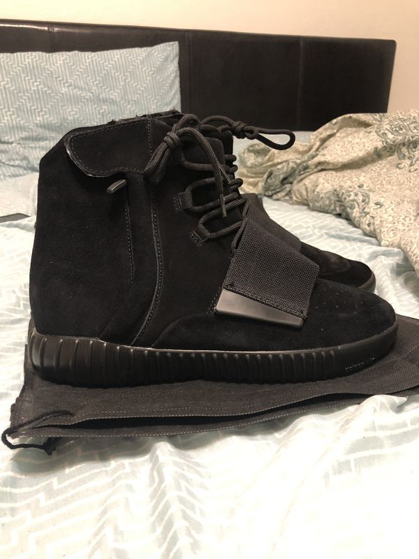 0b29fdb3d09 Adidas yeezy boost 750 black for Sale in Riverside