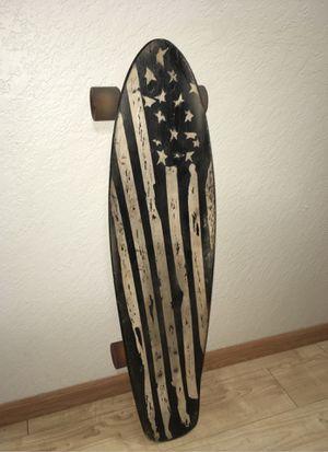 Photo Black classic American longboard