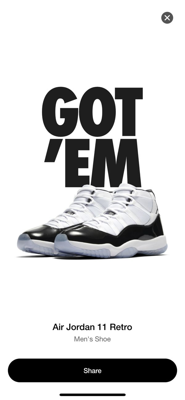 best service d1169 df3df Air Jordan 11 Concord size 12 for Sale in San Francisco, CA - OfferUp