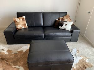Peachy New And Used Black Couch For Sale In Downers Grove Il Offerup Frankydiablos Diy Chair Ideas Frankydiabloscom
