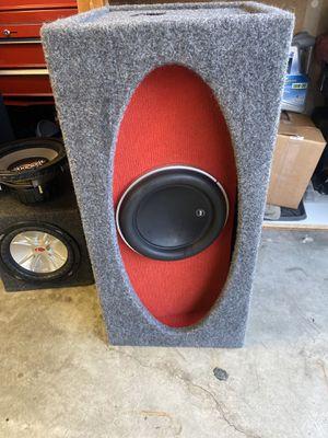 Photo Jl audio sub W7 in original HO BOX